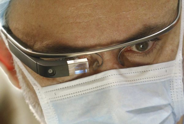 Google Glass in healthcare