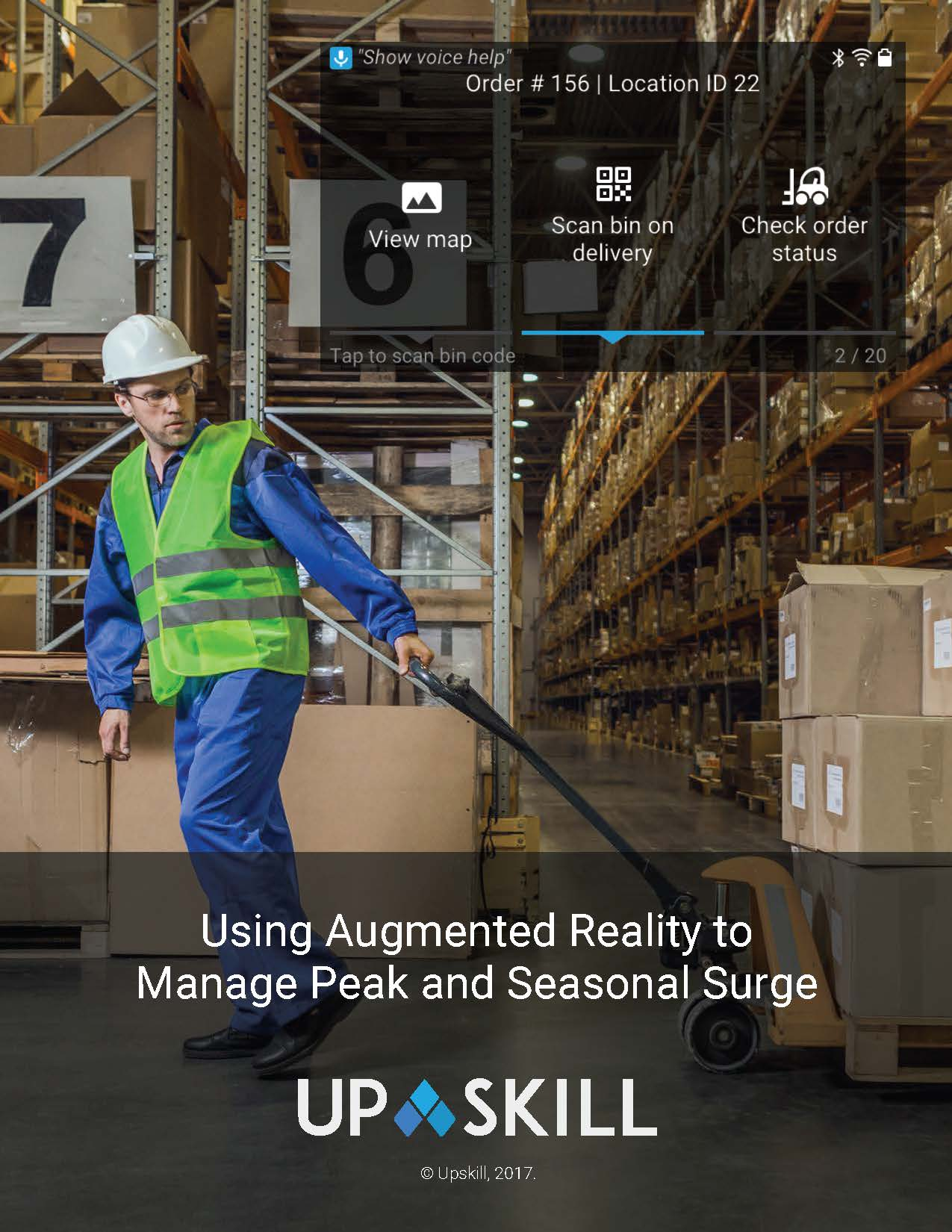 Using Augmented Reality to Manage Peak and Seasonal Surges in 3PL