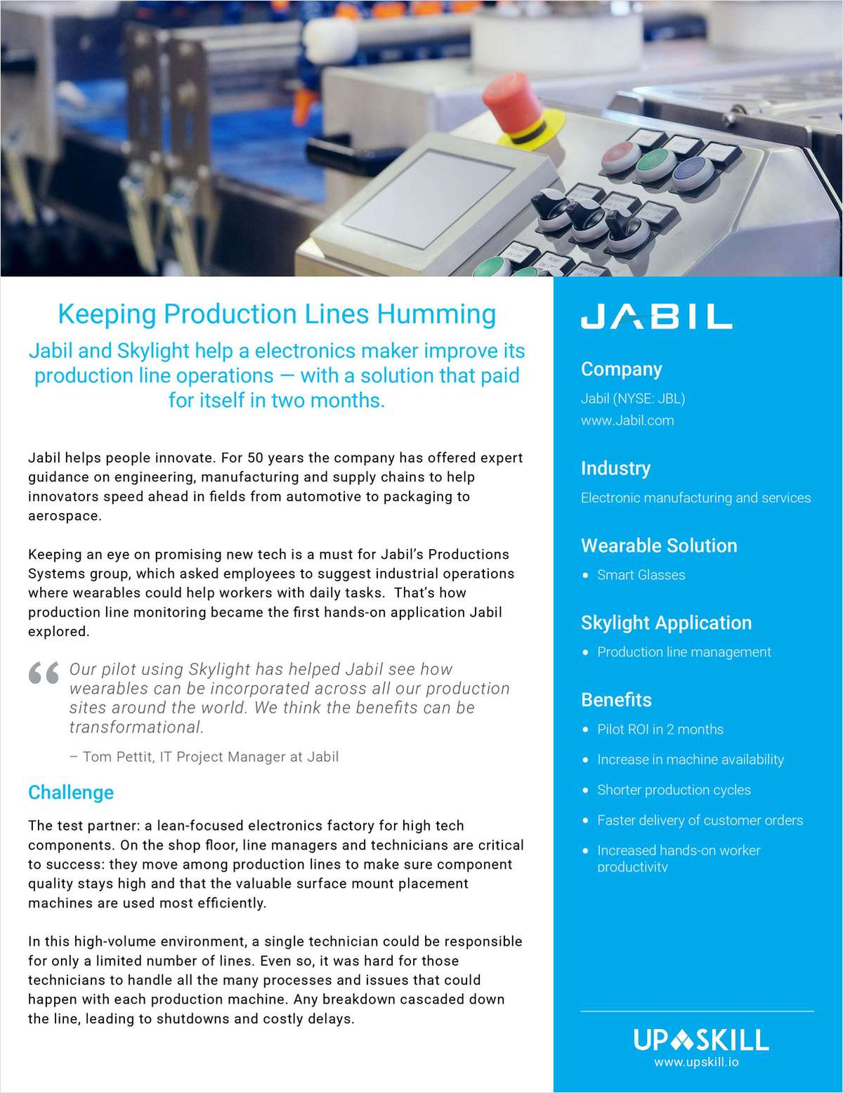Jabil Case Study by Upskill
