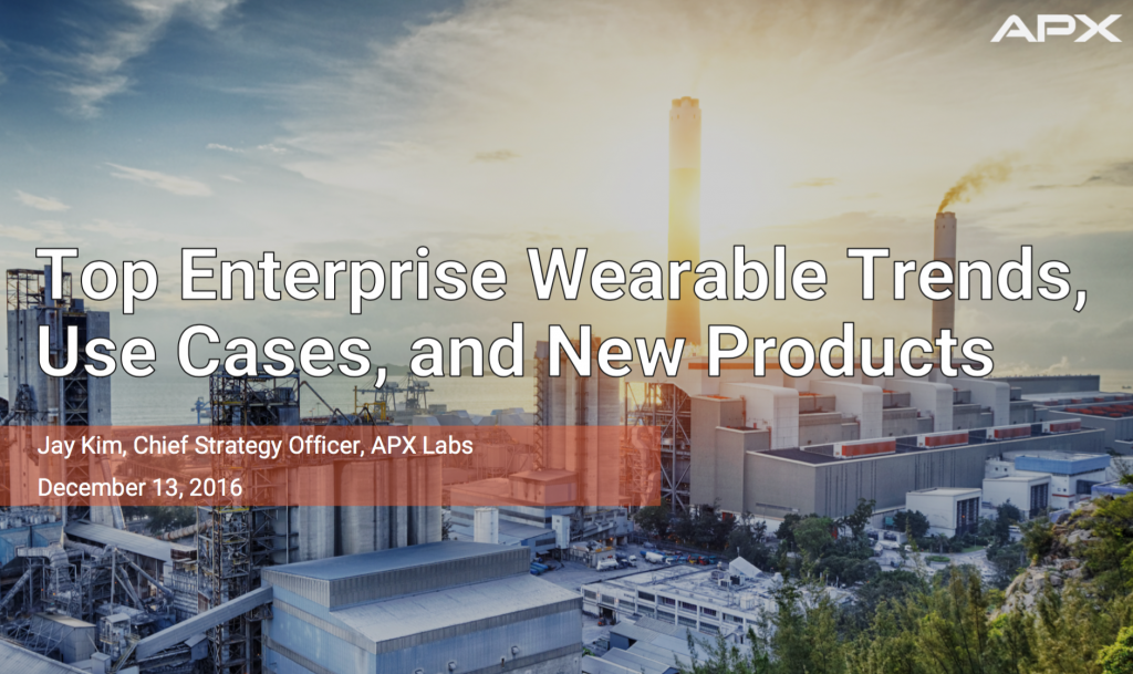 Webinar on enterprise wearable trends