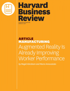 Augmented Raelity Improving Worker Performance