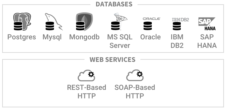 Enterprise Databases and Web Services Supported by Skylight