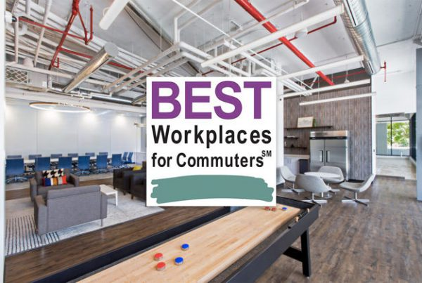 Upskill is one of the best workplaces for commuters