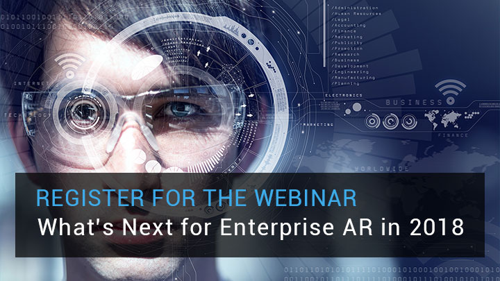 What's Next for Enterprise AR in 2018 Webinar image