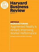 HBR Augmented Reality is Already Improving Worker Performance