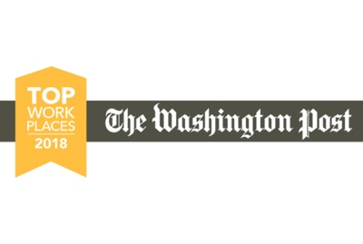 The Washington Post Top Work Places 2018 award image