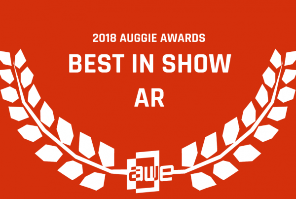 Upskill's 2018 Auggie Award for AR Best in Show